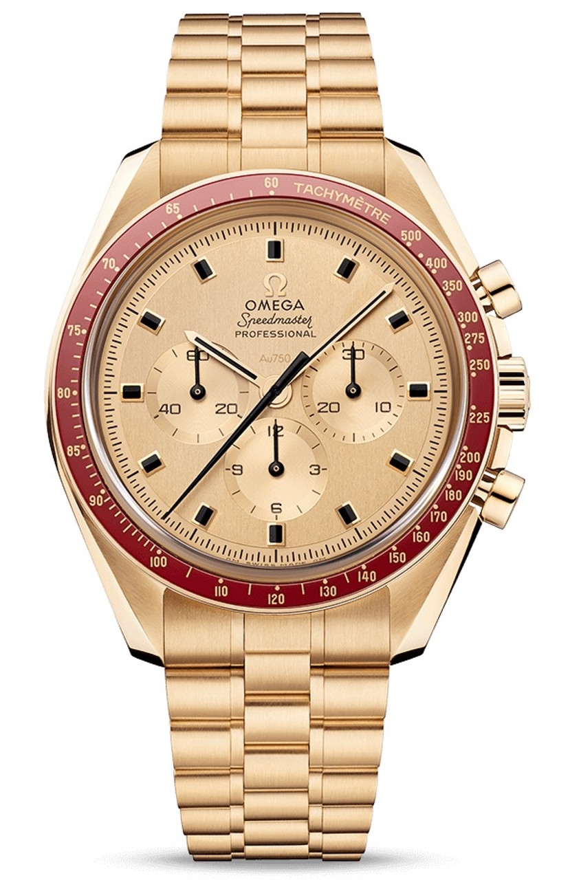 Omega Apollo 11 Speedmaster 50th Anniversary 18K Gold