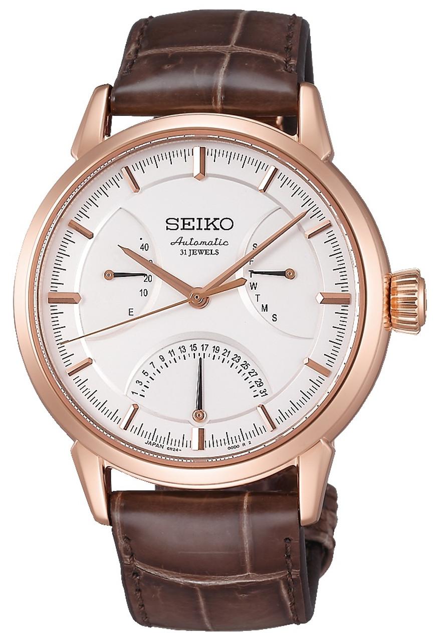 Seiko SARD006 Presage 6R24 with 31 Jewels