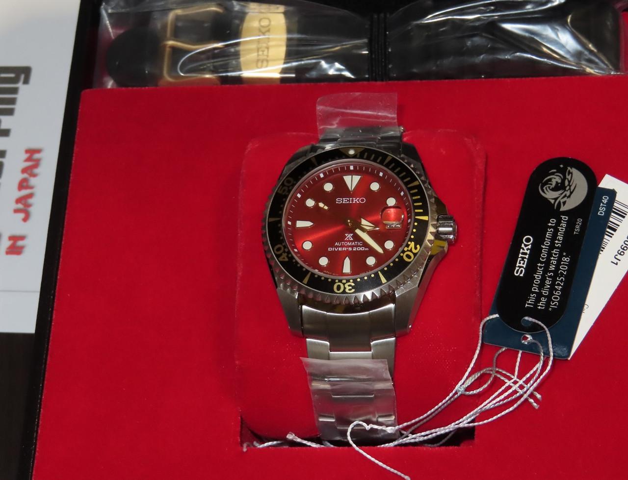 Seiko Zimbe 11 Red Shogun SPB099J Thailand Limited