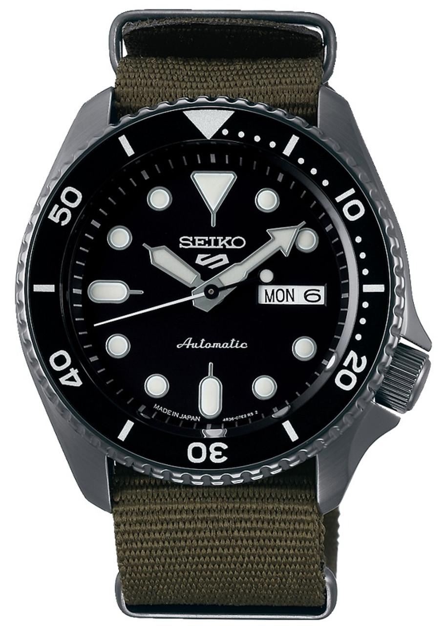 Seiko 5 Black Coating Kanji Wheel SRPD65K4 / SBSA023
