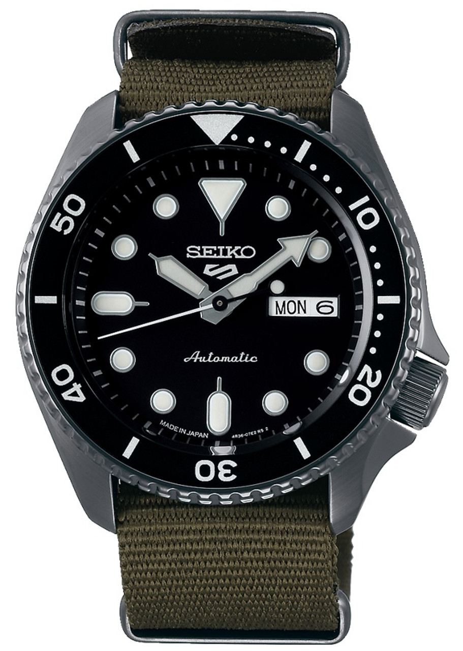 Seiko 5 Black Coating Kanji Wheel SRPD65K4 / SBSA023