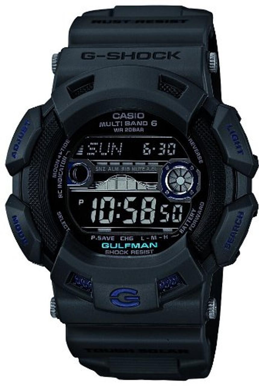 Casio Gulfman GW-9110GY-1JF Men in Smoky Gray