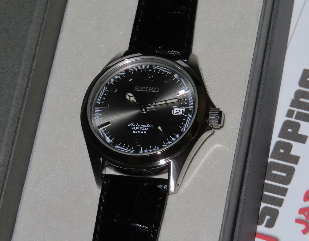 Seiko x TiCTAC Grey Sunburst SZSB007 Special Edition