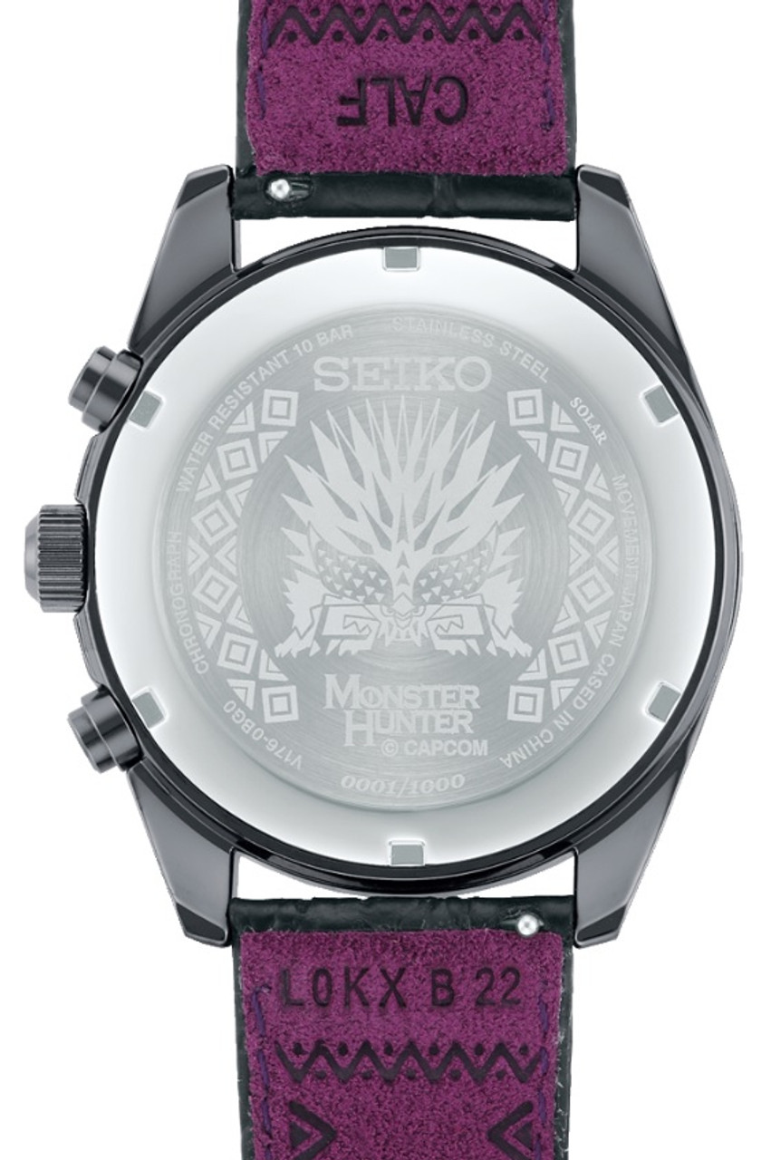 Seiko x Monster Hunter Limited Nergigante SBPY157