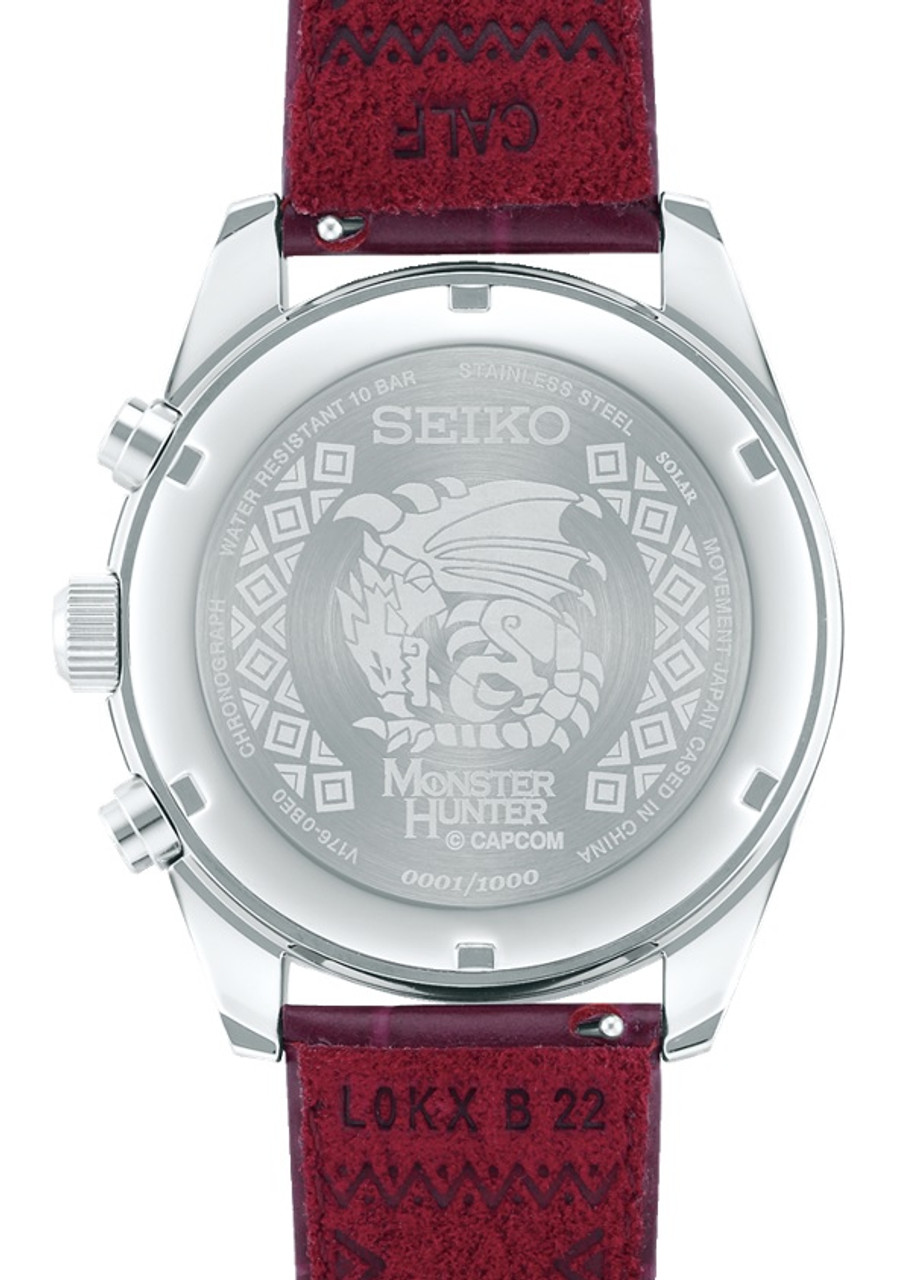 Seiko Monster Hunter SBPY155 Rioreus Red Limited