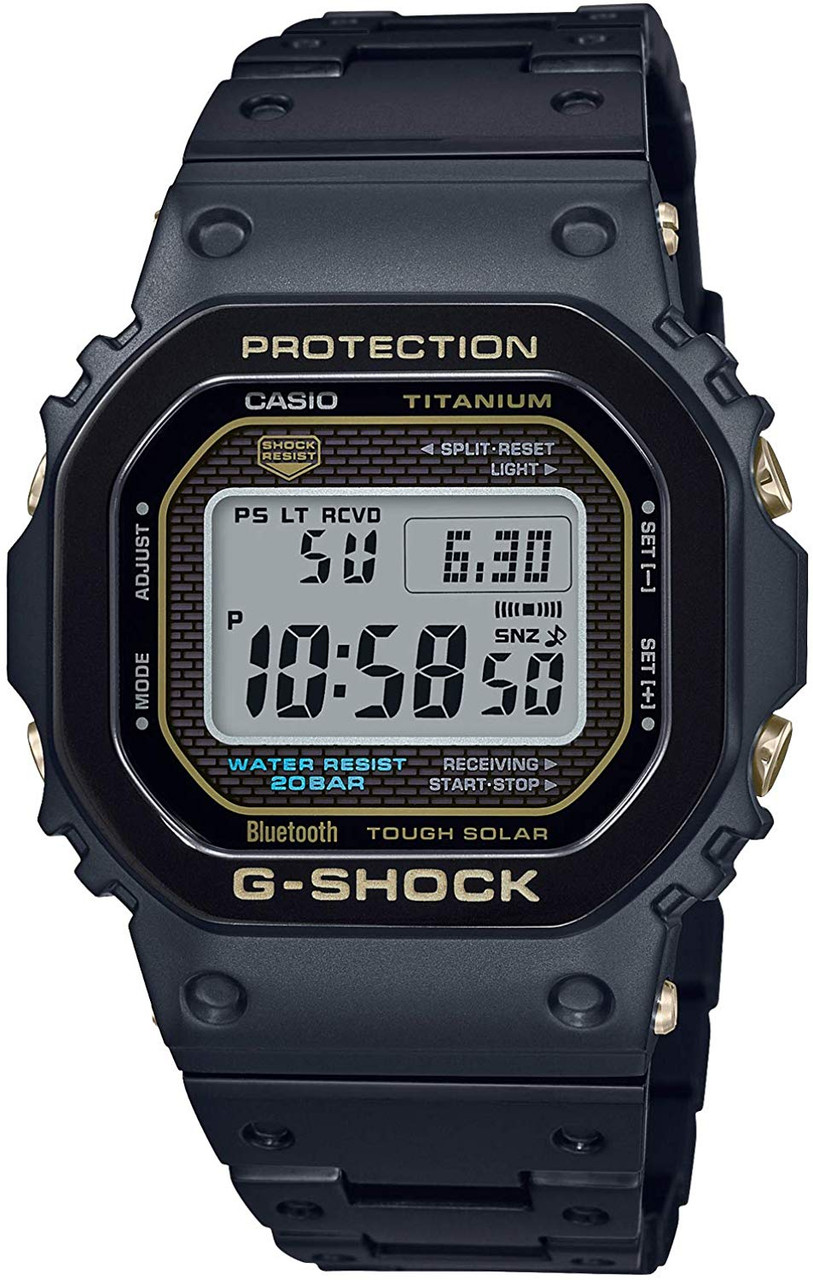 G-Shock GMW-B5000TB Full Metal Matte Black Titanium