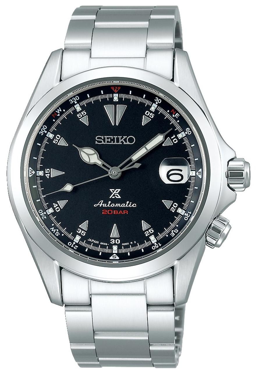 Seiko Alpinist Black Dial SBDC087