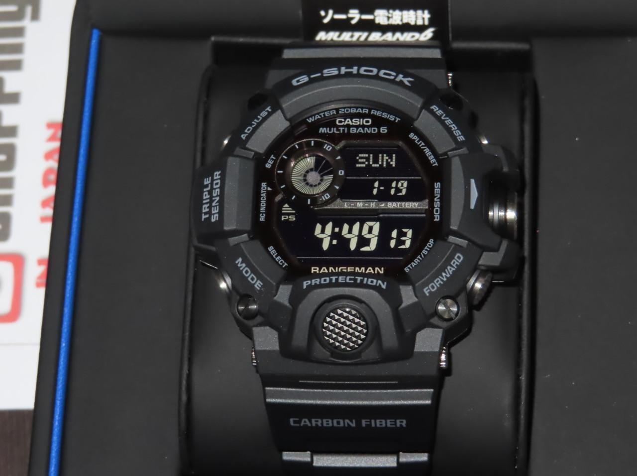 Casio Rangeman GW-9400J-1BJF Black Out Carbon