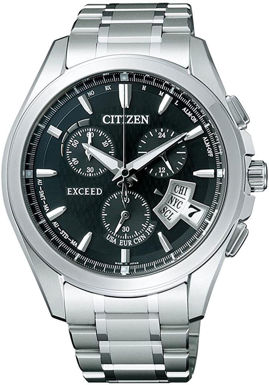 Citizen Exceed EBS74-5103 Eco-Drive Solar Atomic