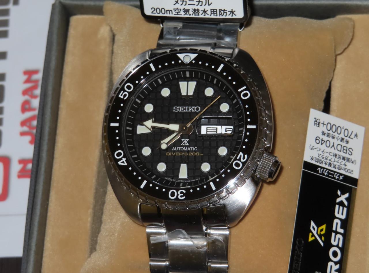 Prospex King Turtle Black Japan Version Kanji SBDY049
