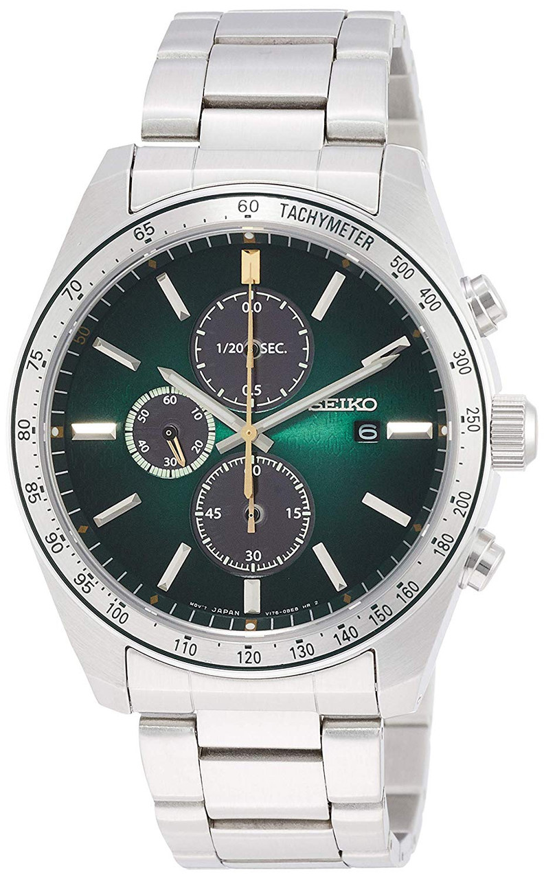 Seiko SBPY153 Green Chronograph 50th Anniversary