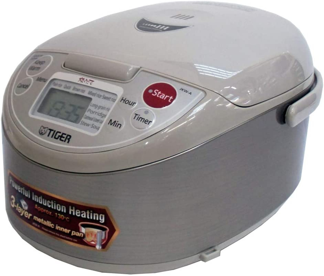 Tiger IH Rice Cooker 220v 1.8L (10 Cups) JKW-A18W