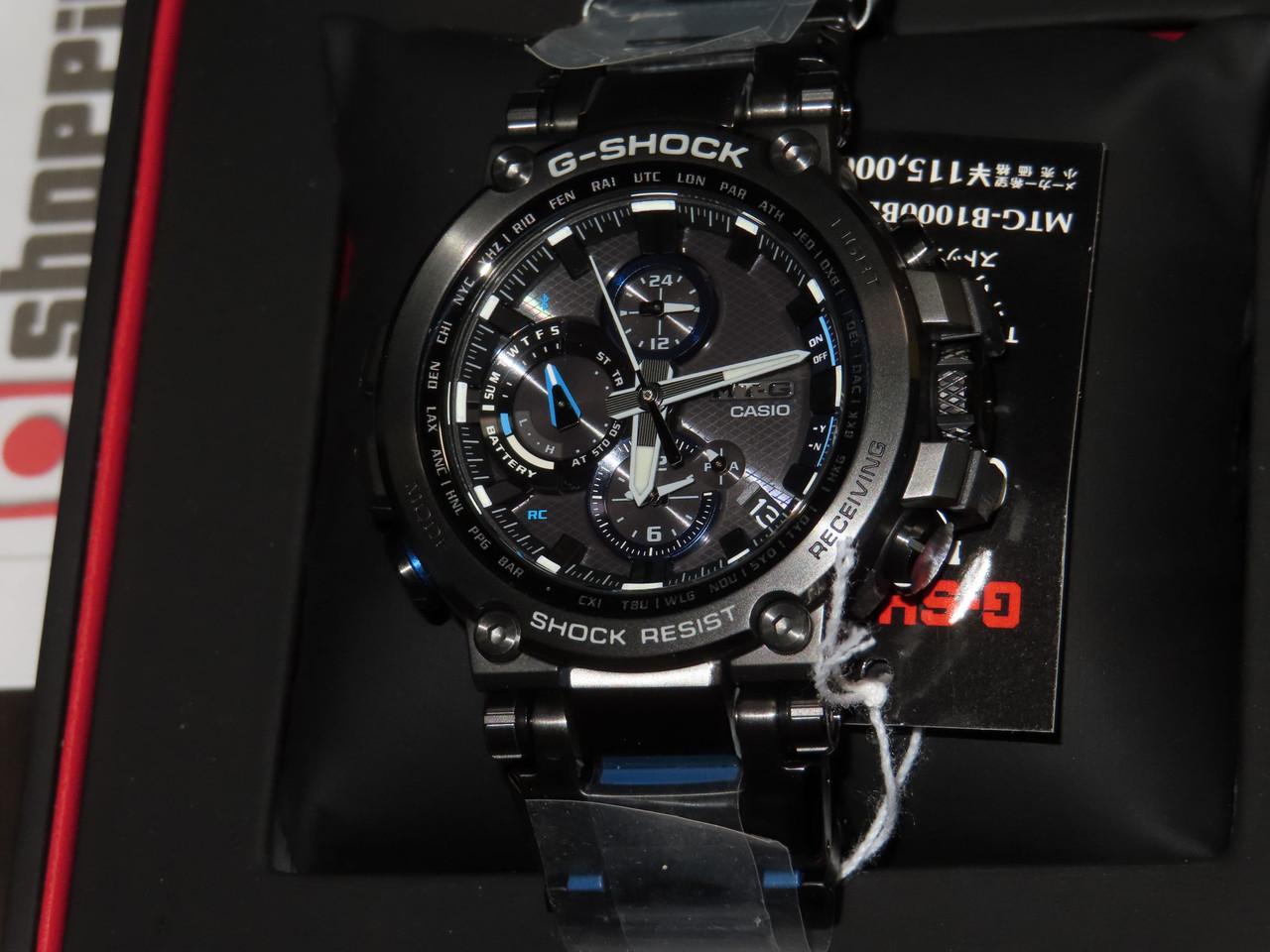 G-Shock MTG-B1000BD-1AJF Metal Twisted G