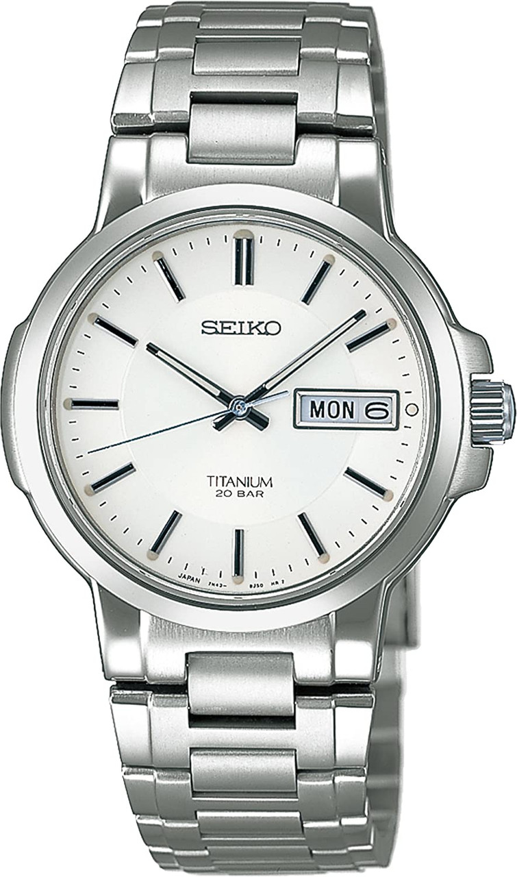 Seiko Quartz Titanium SCDC055 Men's Watch