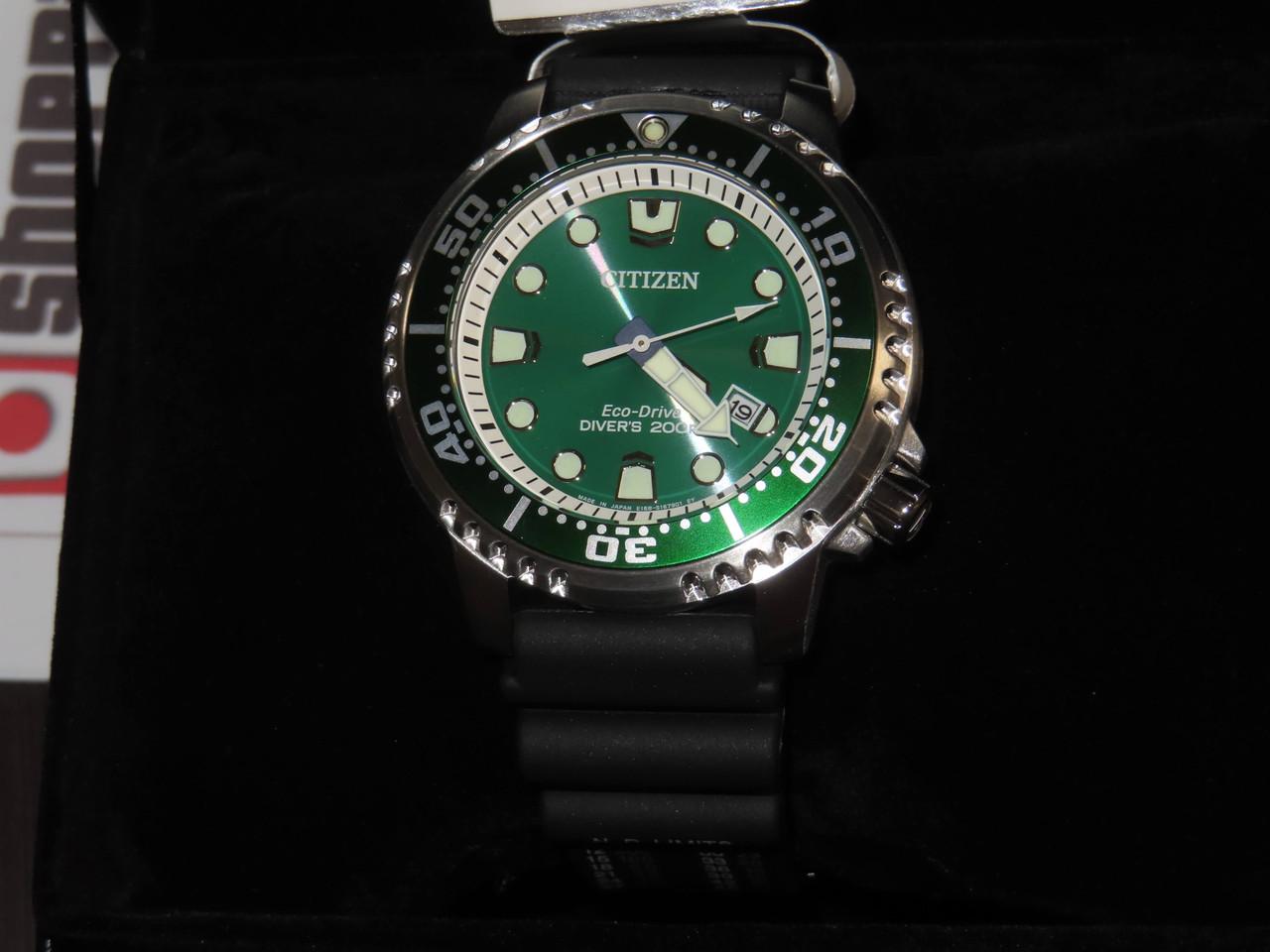 Citizen Promaster Marine Green Eco-Drive BN0156-13W