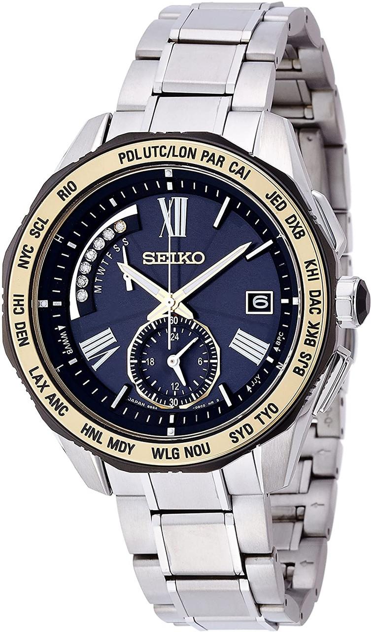 Seiko Brightz Solar Radio Controlled SAGA186