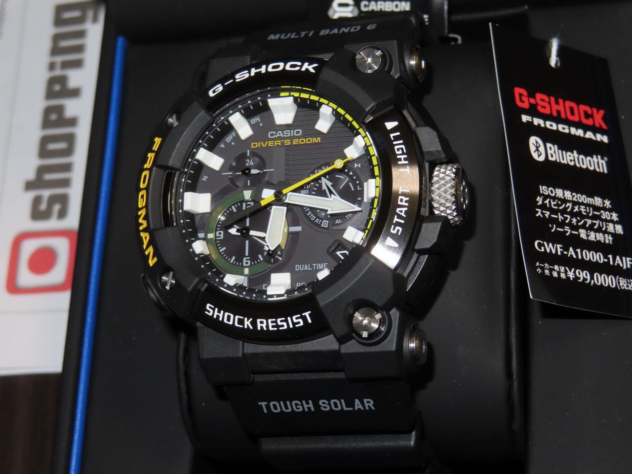 G-Shock Frogman Analog Diver 200m GWF-A1000-1AJF