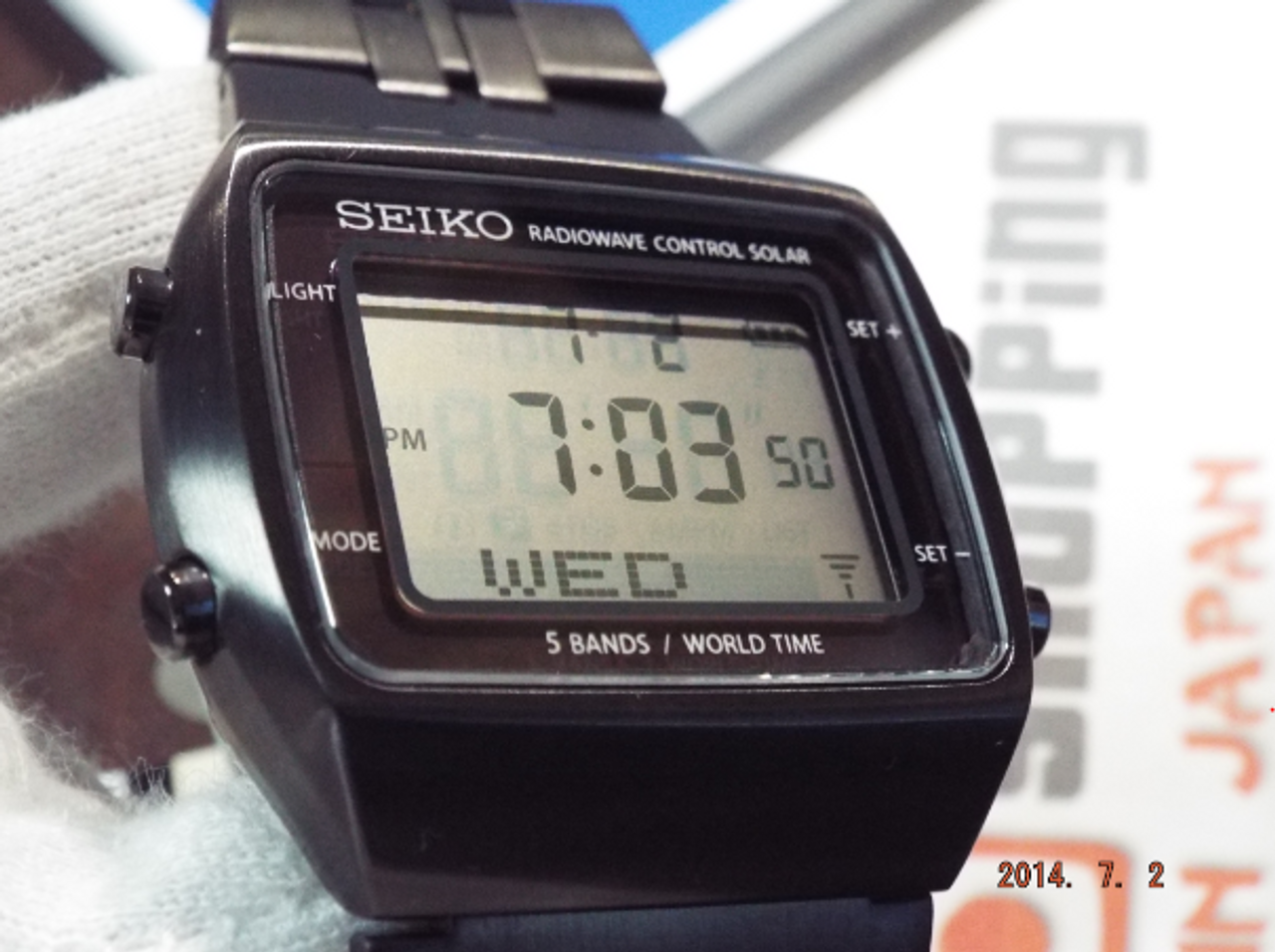 Seiko Spirit SBPG003 Atomic Power Design Project