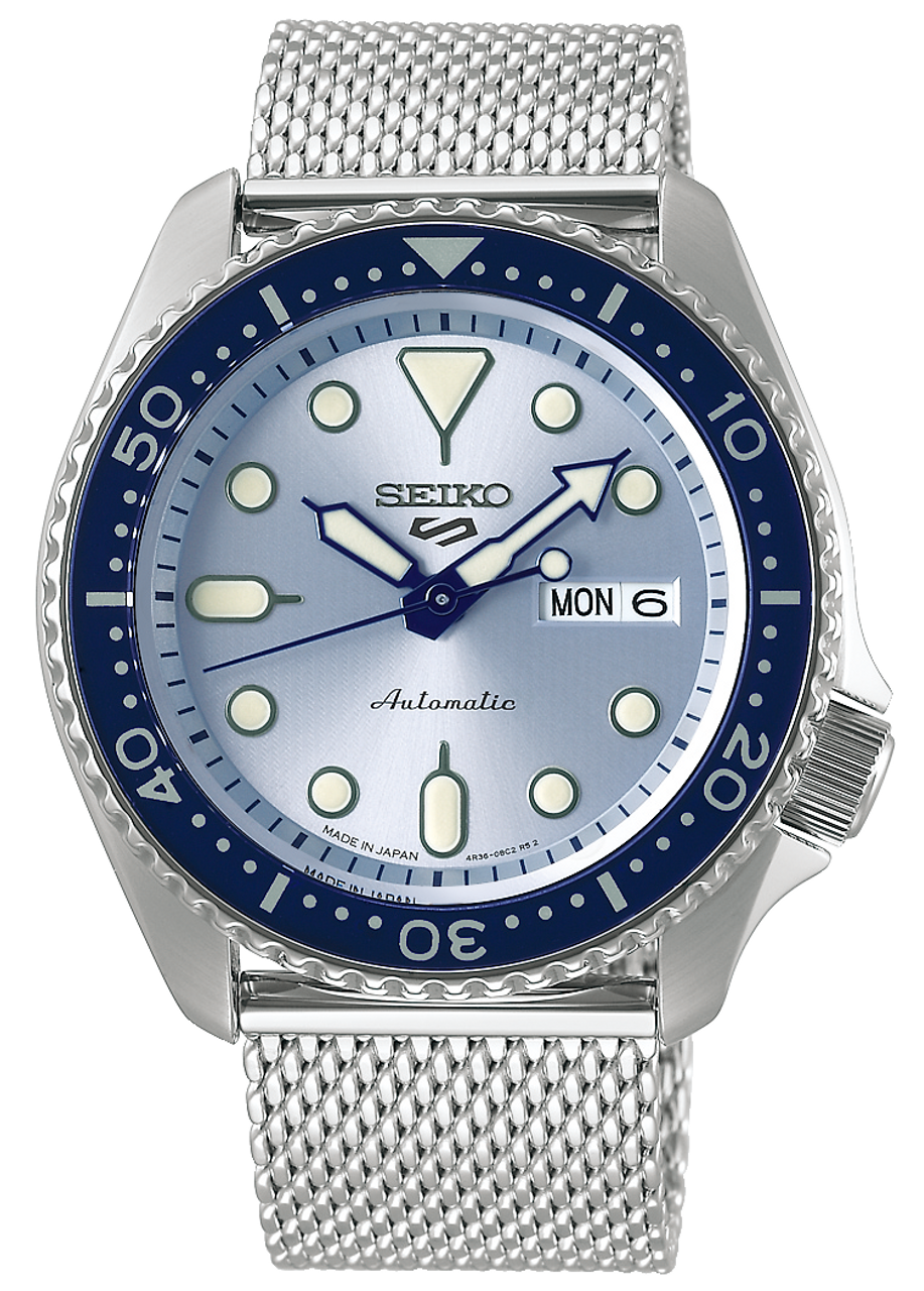 Seiko 5 Suit Style Mesh Strap Japan Made Ver. SBSA069