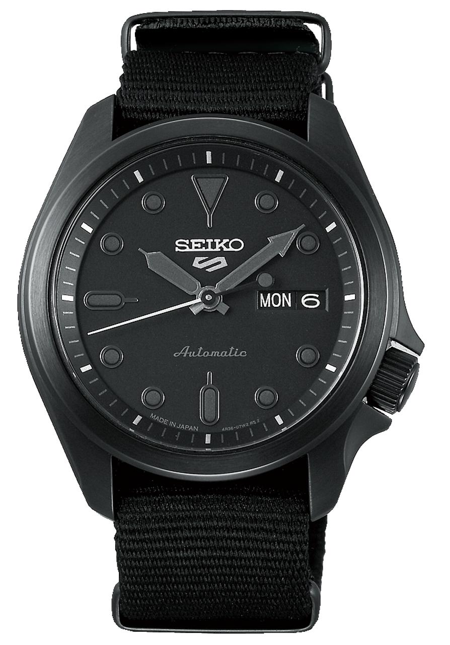 Seiko 5 Sports Automatic Black Japan Version SBSA059