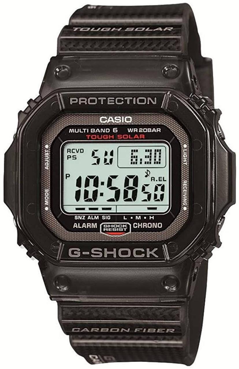 G-Shock GW-S5600-1JF Carbon Fiber Solar Atomic