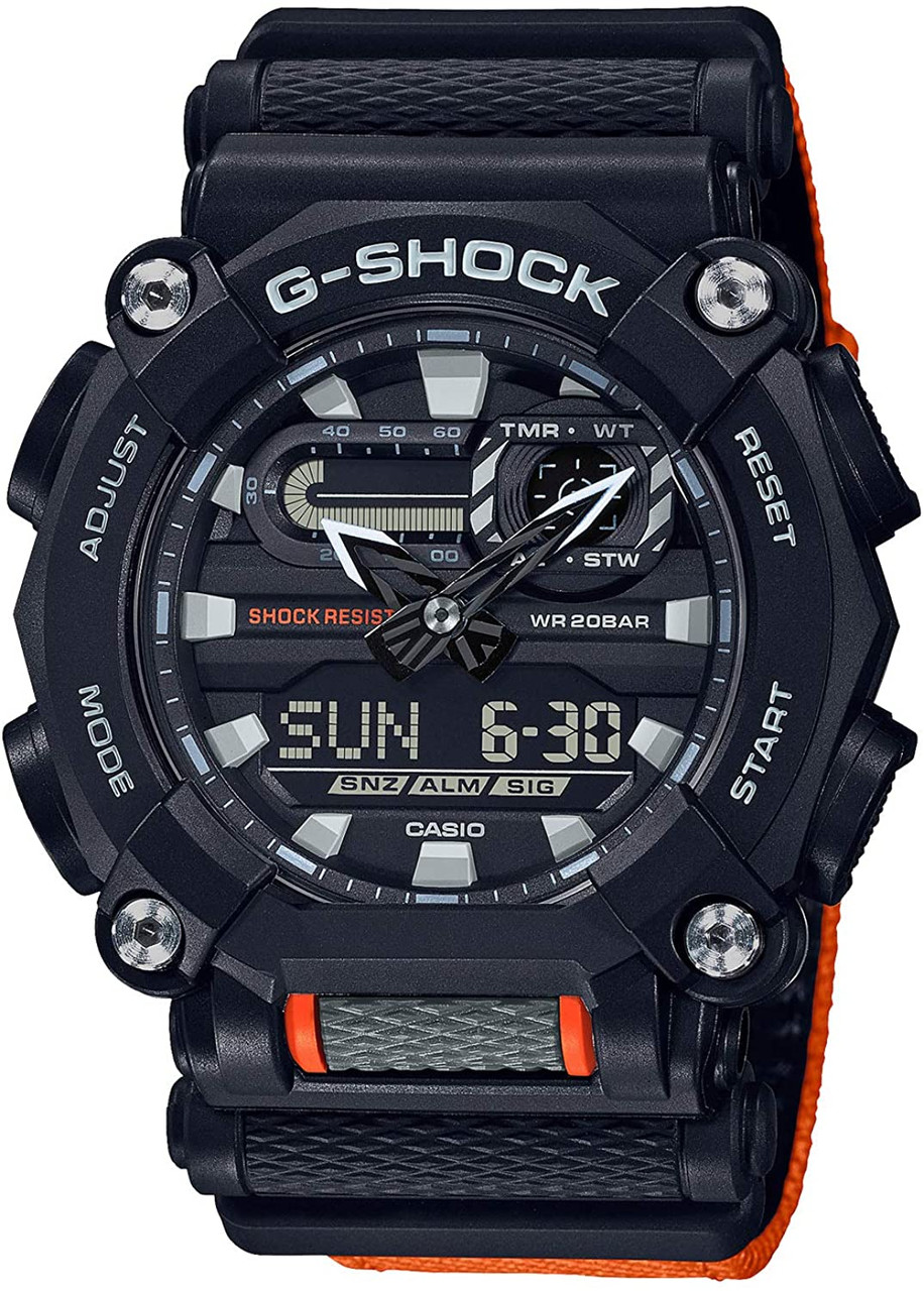 G-Shock Heavy-Duty Orange GA-900C-1A4JF
