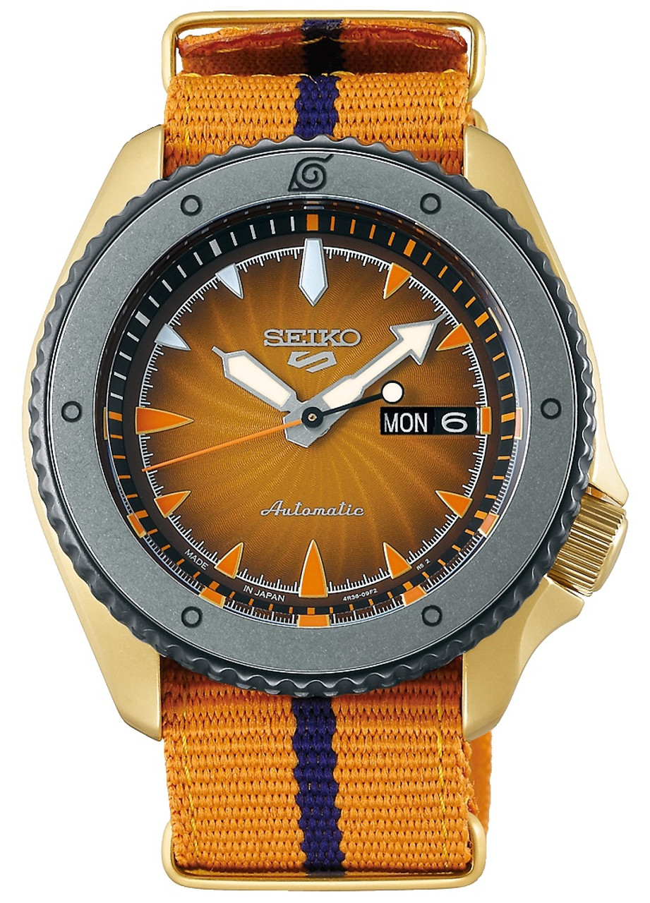 Seiko 5 Naruto Japan Made ver. SBSA092 / SRPF70