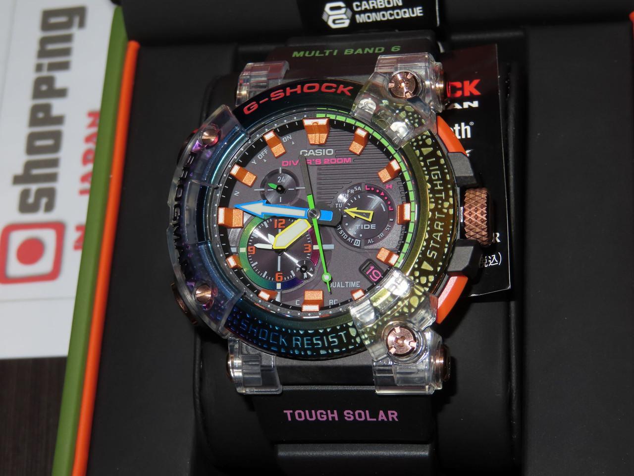 G-Shock Frogman Borneo Rainbow Toad GWF-A1000BRT