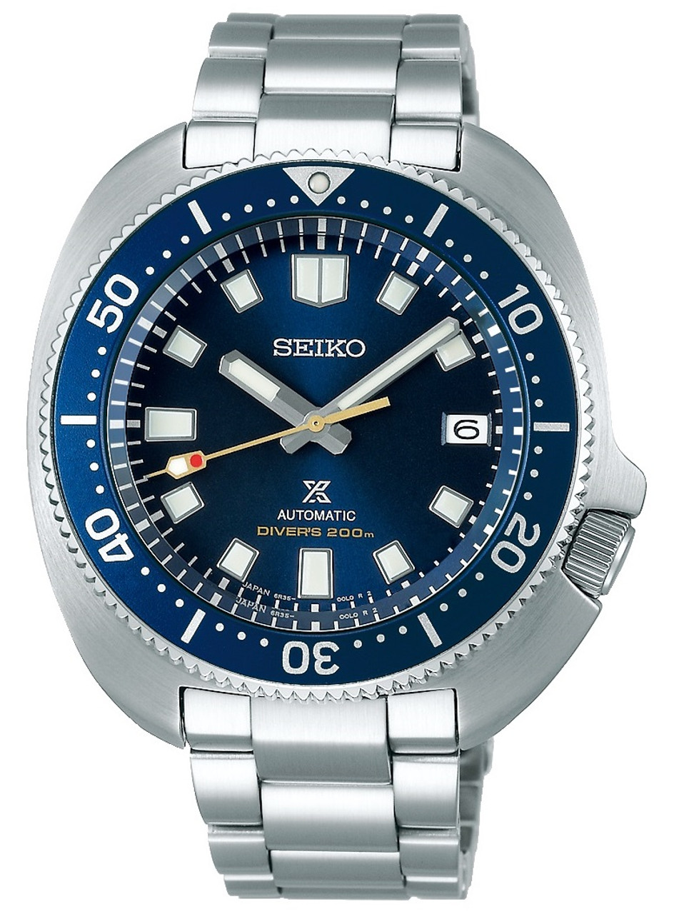 Seiko 1970 Dive Limited Captain Willard Blue Dial SBDC123