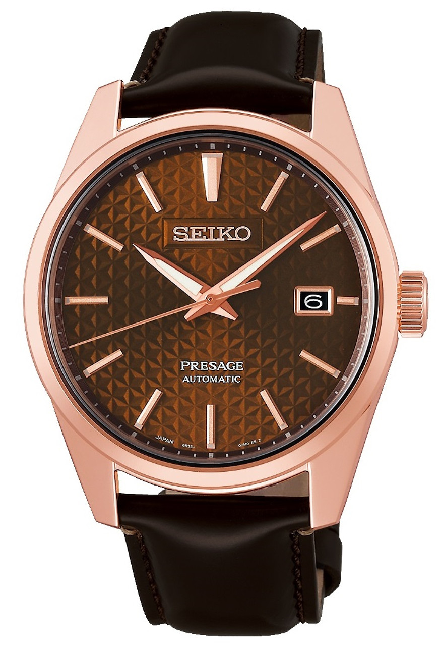 Seiko Presage Sharp Edged Series JDM Version SARX080