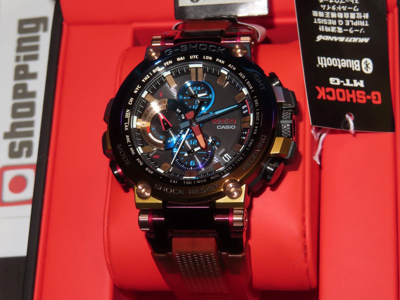 G-Shock MT-G Volcanic Lightning MTG-B1000VL-4AJR