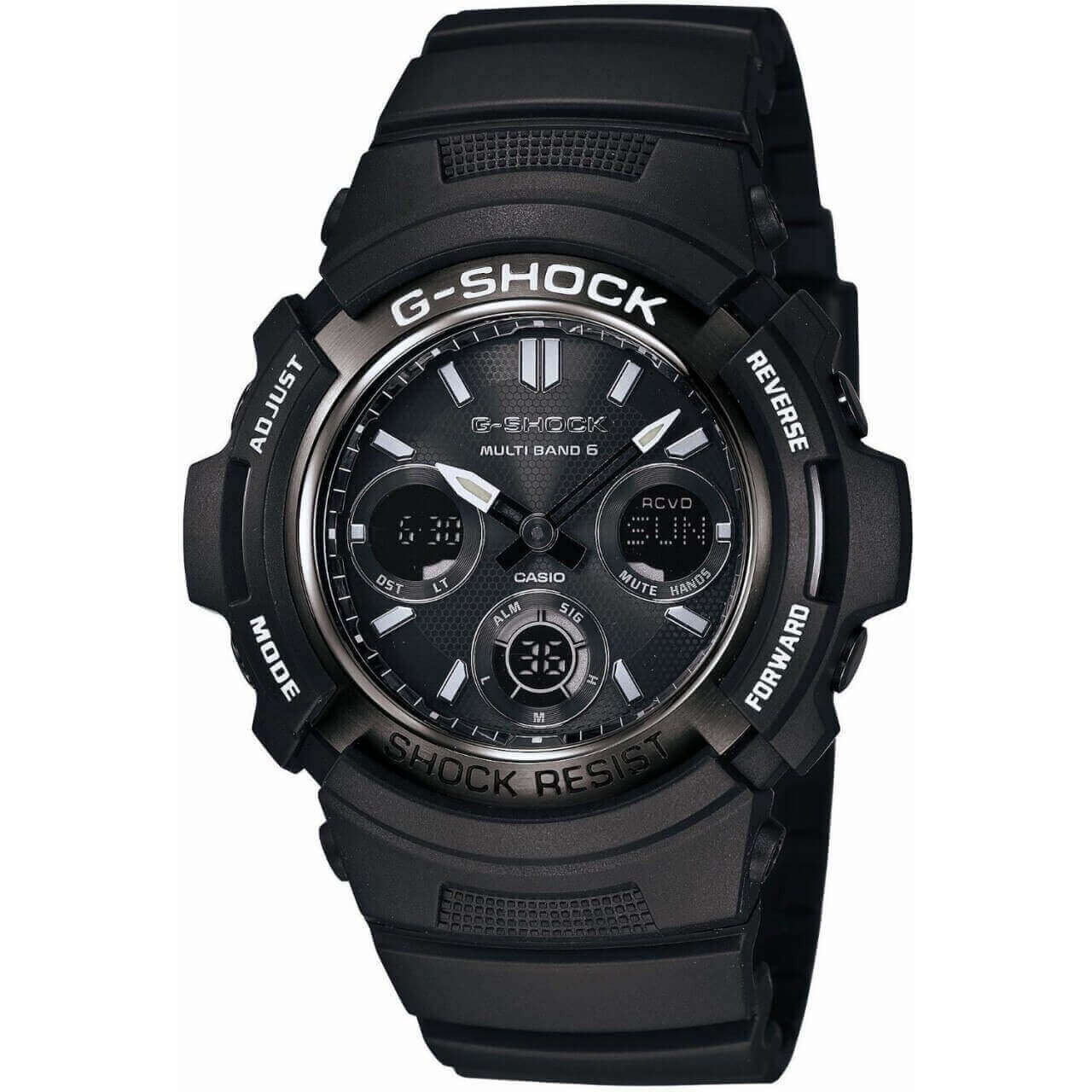 G-Shock Garish Black AWG-M100BW-1AJF