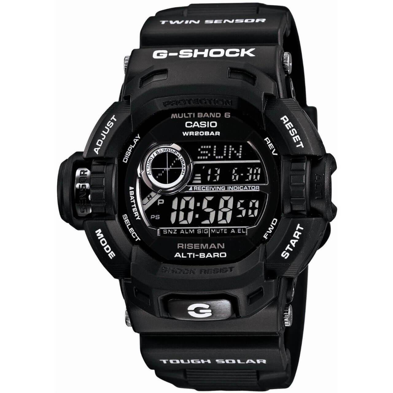 Casio G-Shock Riseman GW-9200BWJ-1JF Garish Black