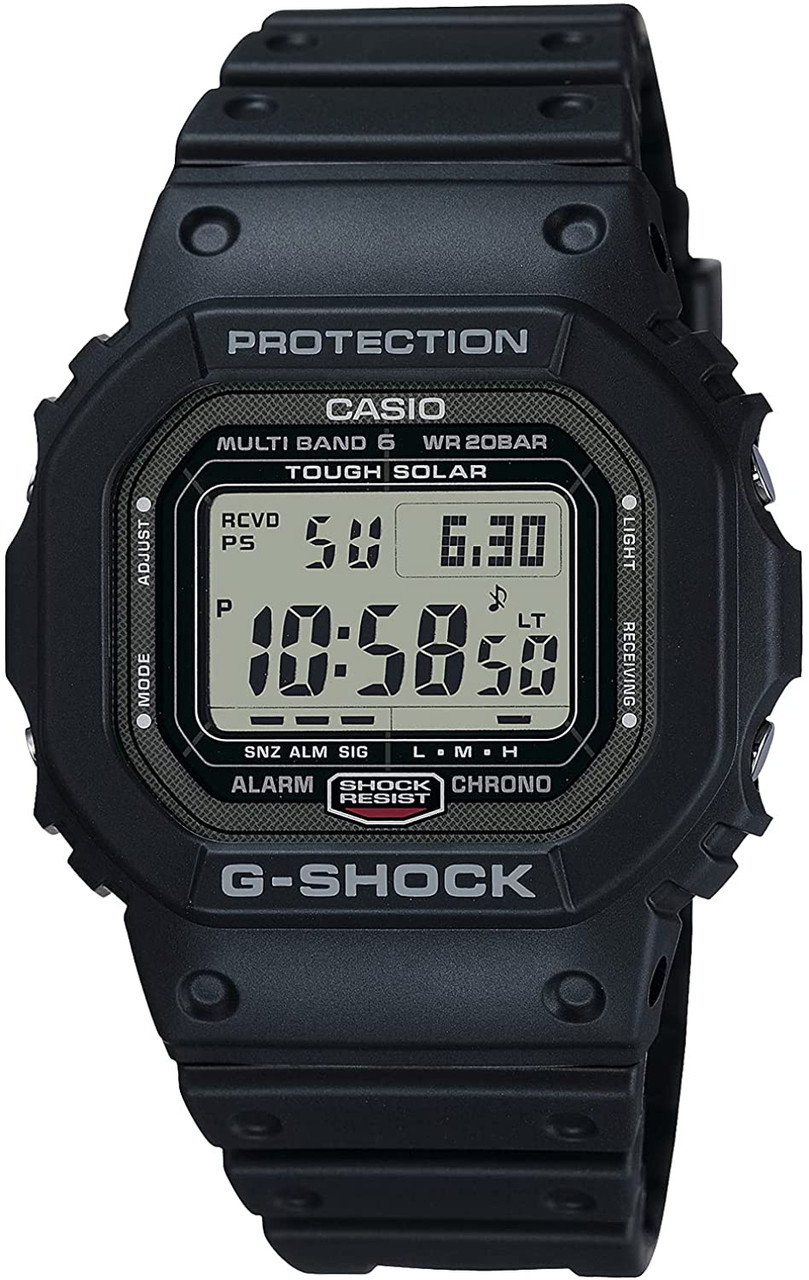 G-Shock GW-5000U-1JF Multiband 6 with DLC