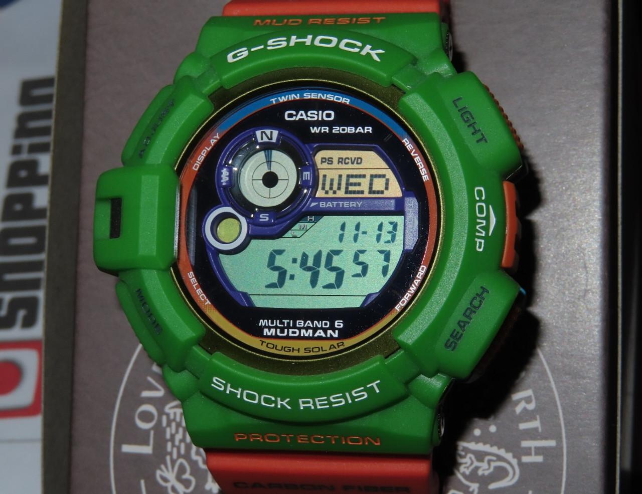 Casio Mudman GW-9300K-3JR Love The Sea And The Earth