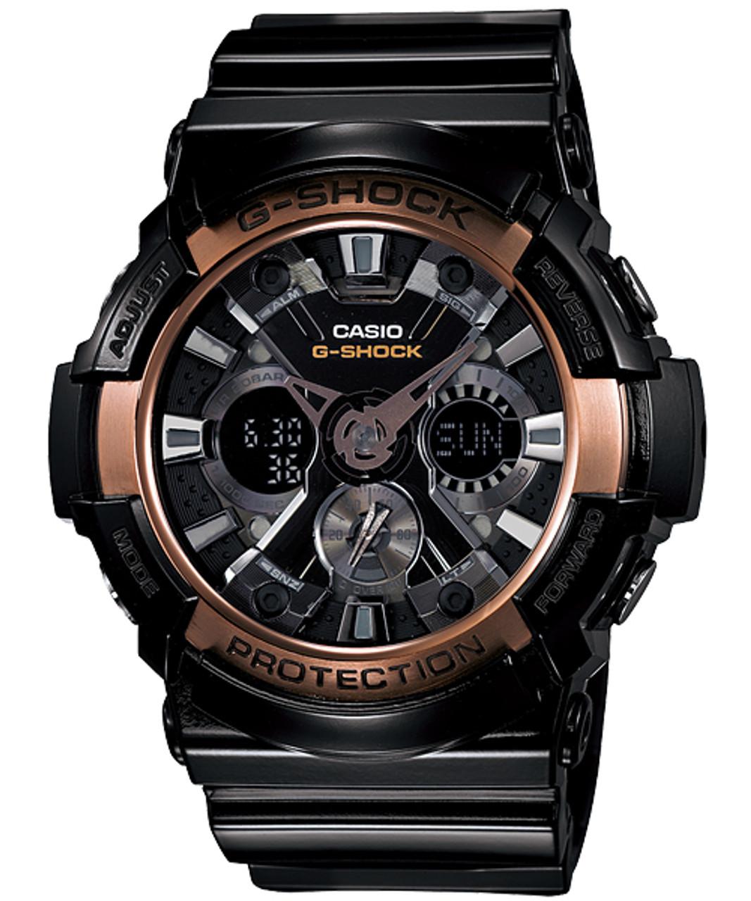 Casio G-Shock GA-200RG-1AJF Rose Gold Series