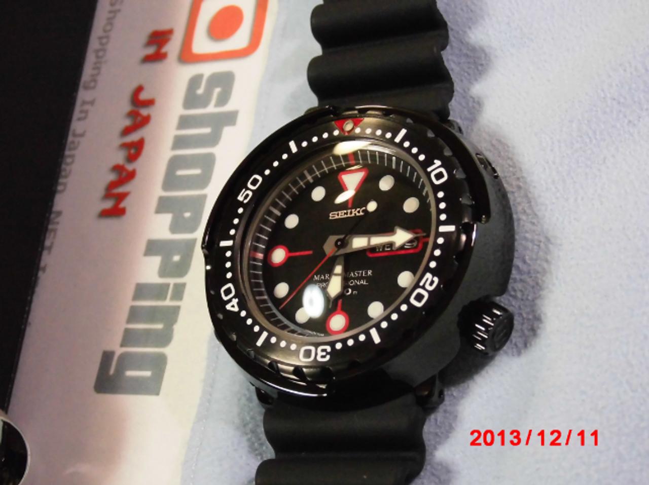 Seiko 22mm Rubber Strap DFL3EB for SBDX011 & SBBN013