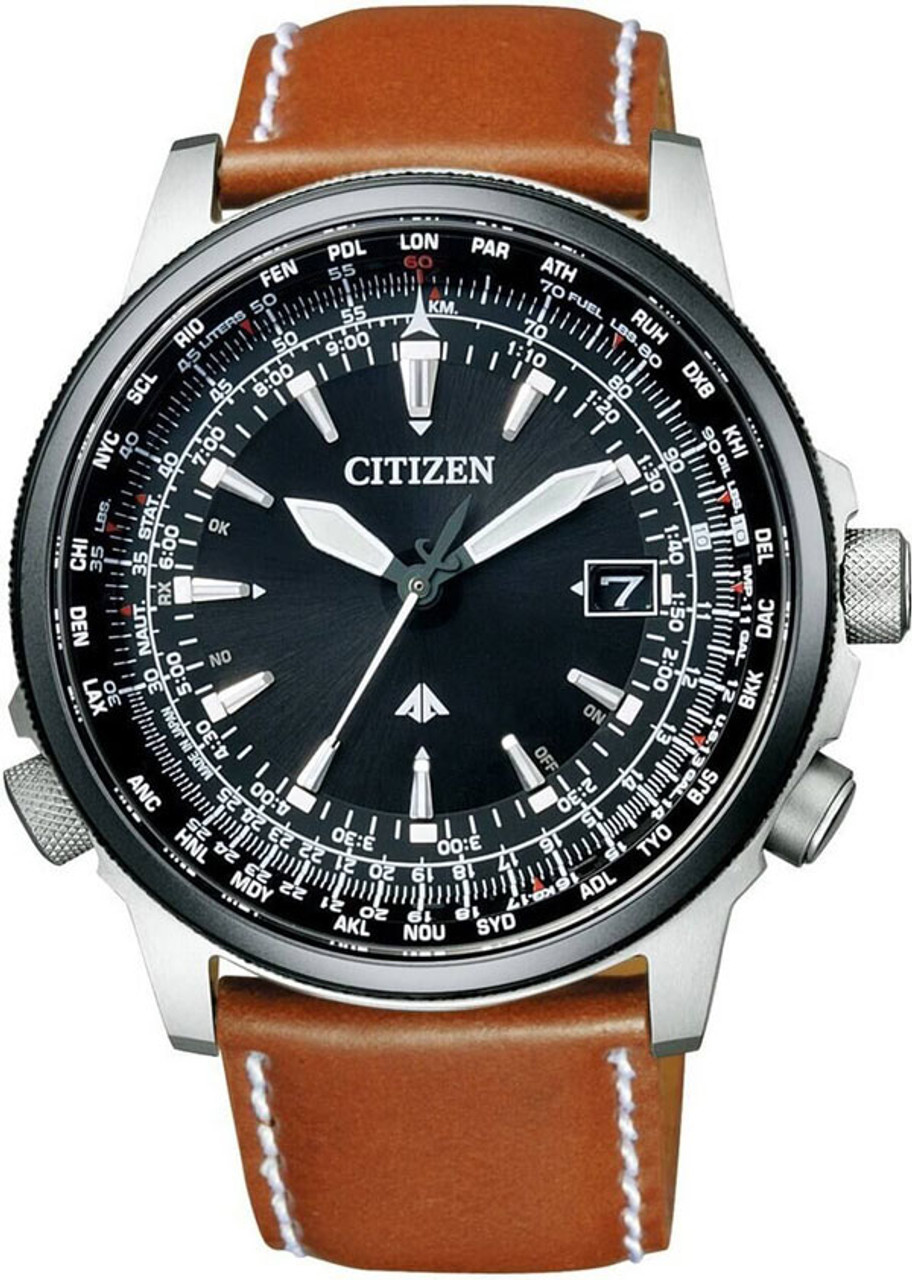 Citizen CB0134-00E Promaster Sky Eco-Drive Leather