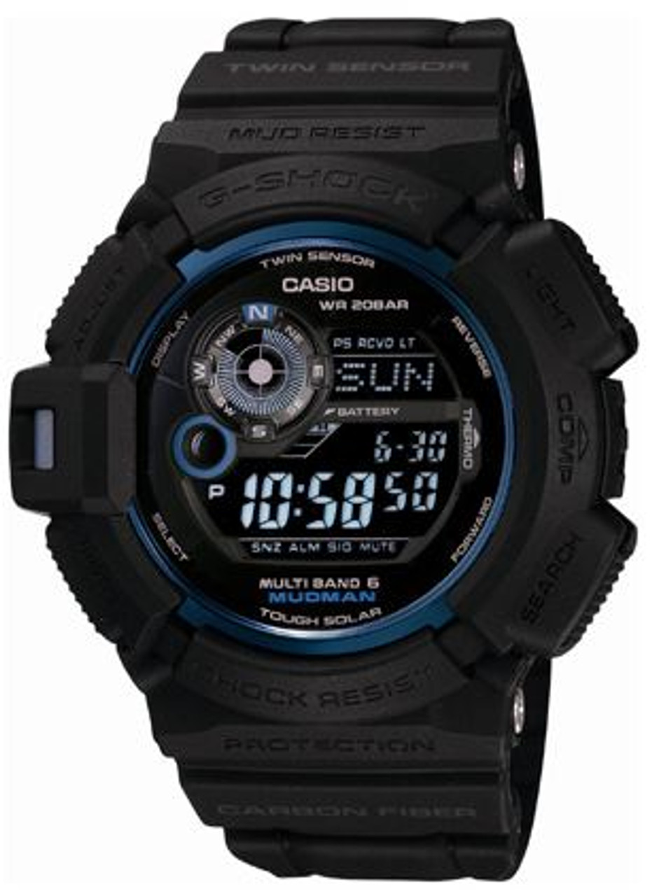 Mudman GW-9330B-1JR Initial Blue Limited