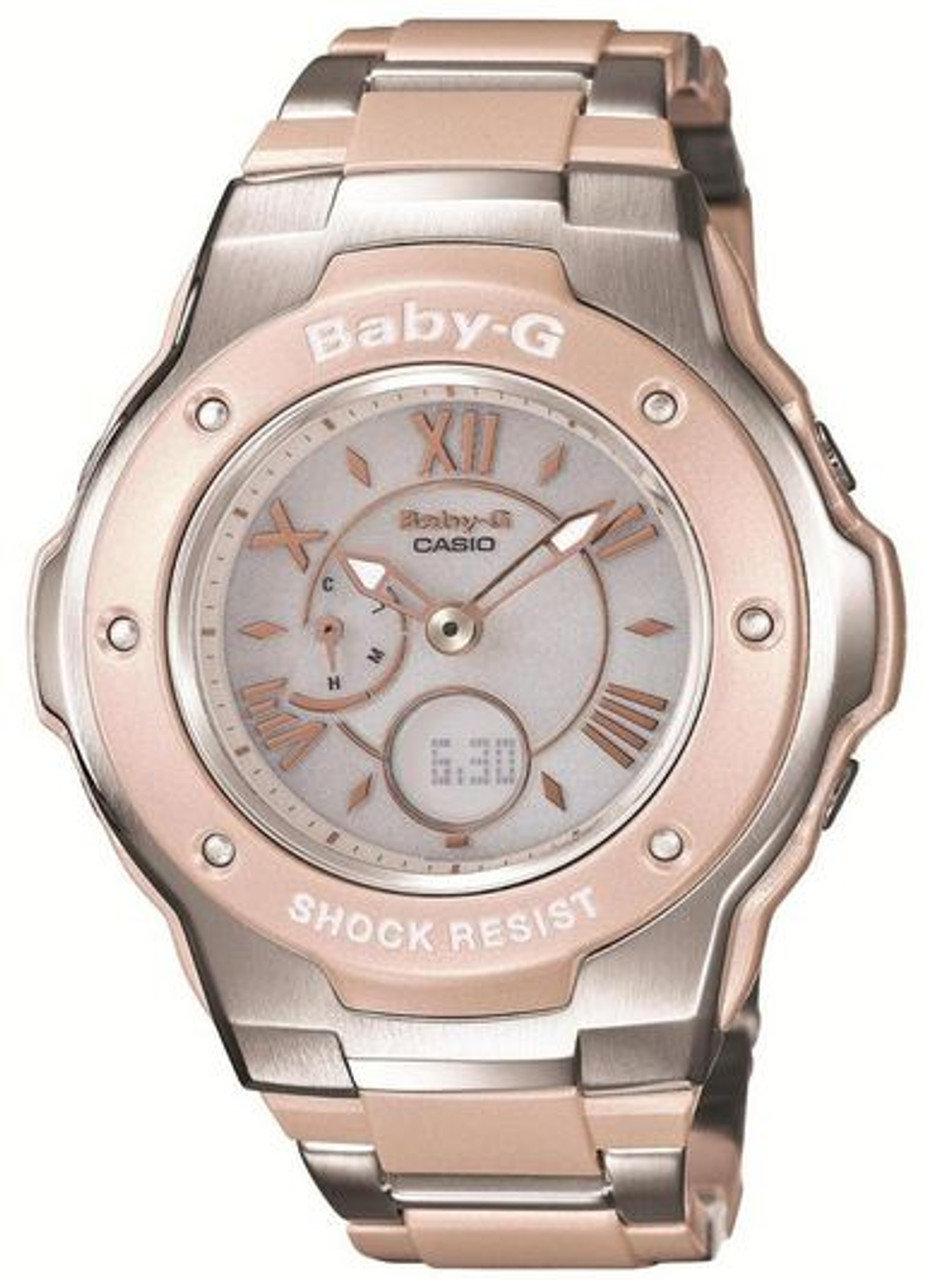 Ladies Casio Baby-G Solar Atomic Radio Watch