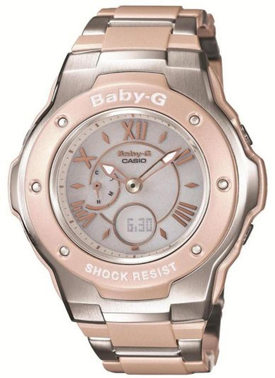 Ladies Casio Baby-G Solar Atomic Radio Watch