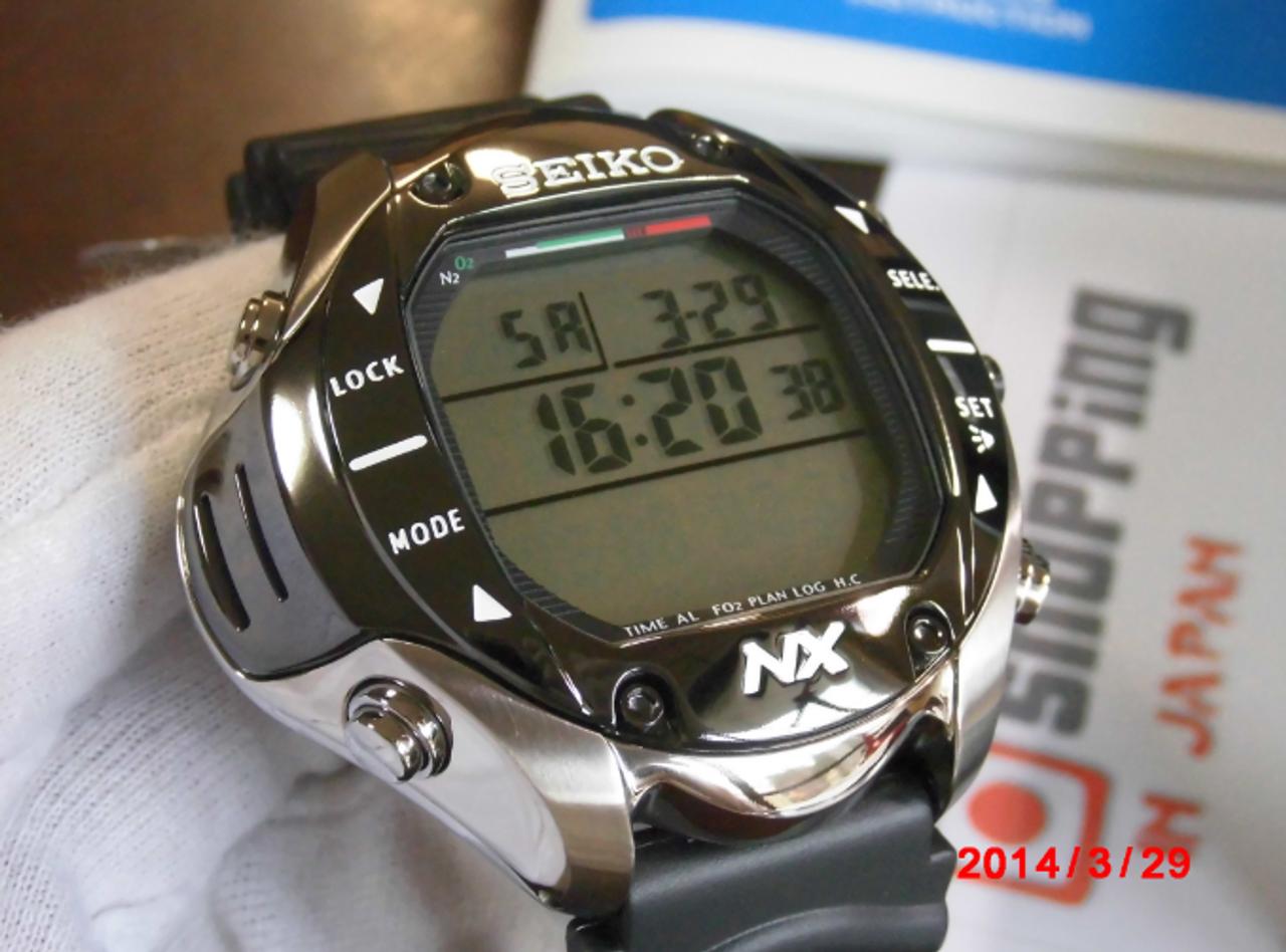 Seiko SBDK001 Prospex Diving Computer