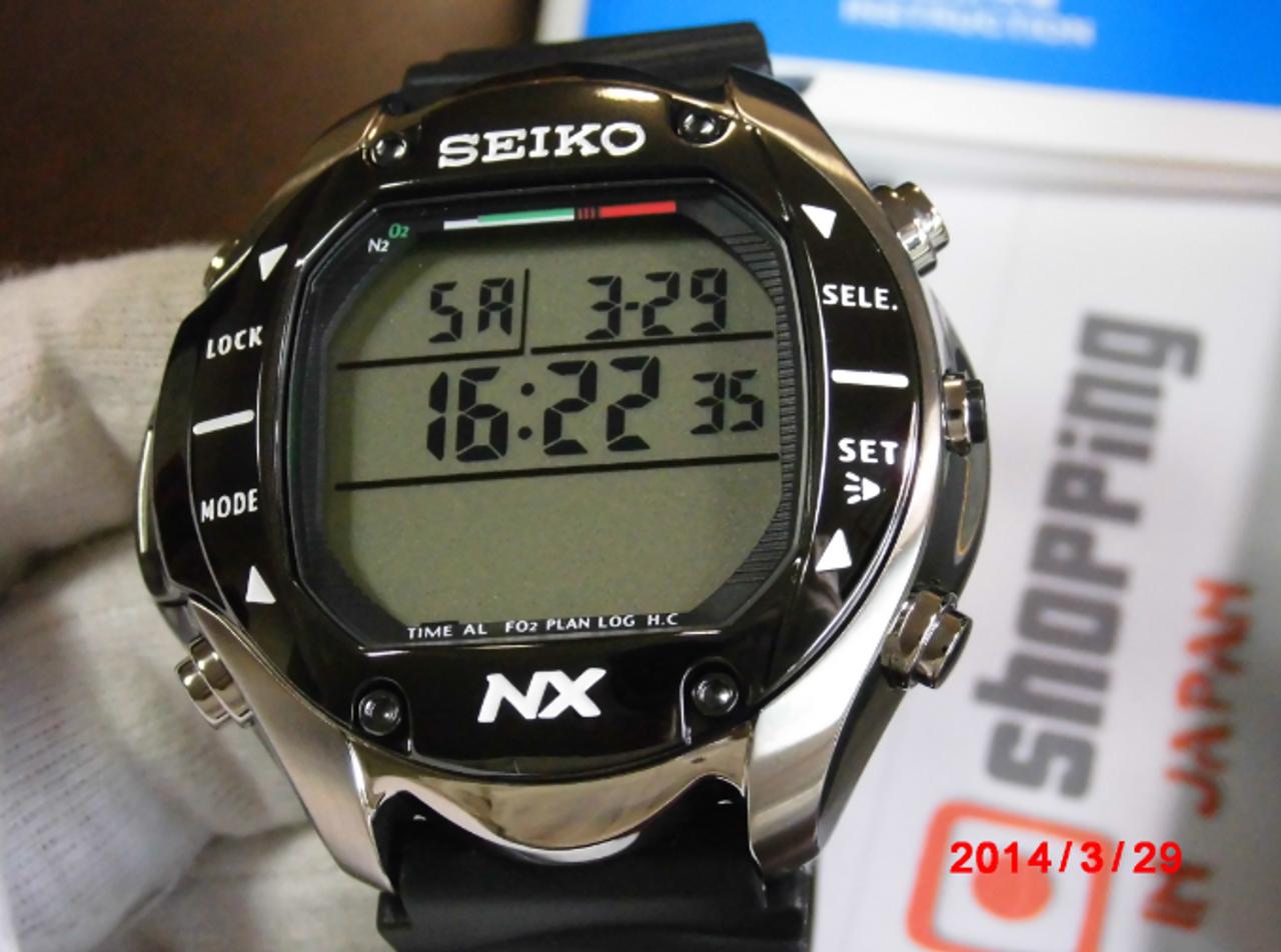 Seiko STN009J1 Prospex Diving Computer