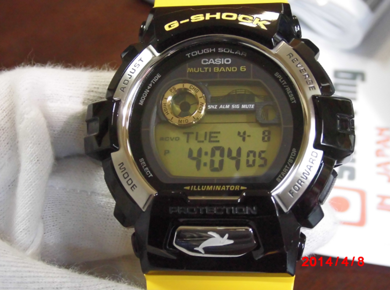 Casio G-Shock GWX-8901K-1JR
