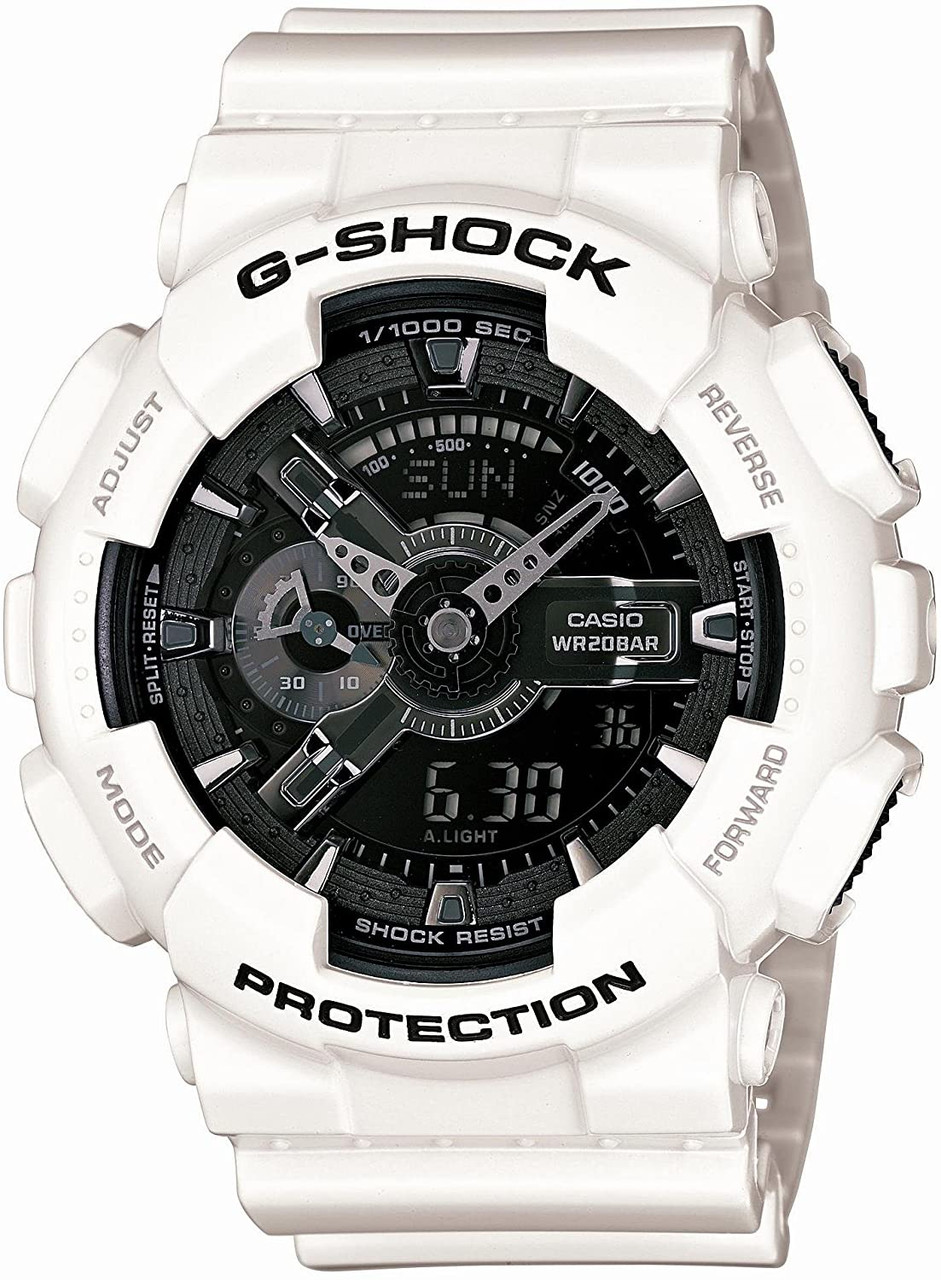 G-Shock GA-110GW-7AJF White and Black