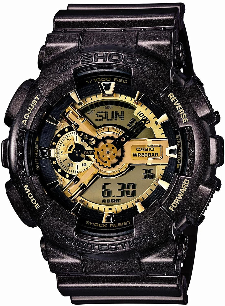Casio G-Shock GA-110BR-5AJF Garish Gold