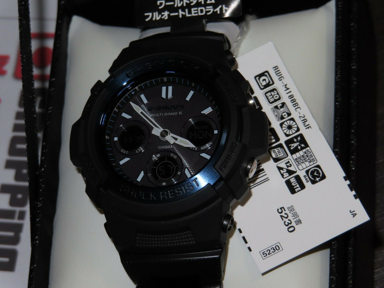 Casio G-Shock AWG-M100BC-2AJF