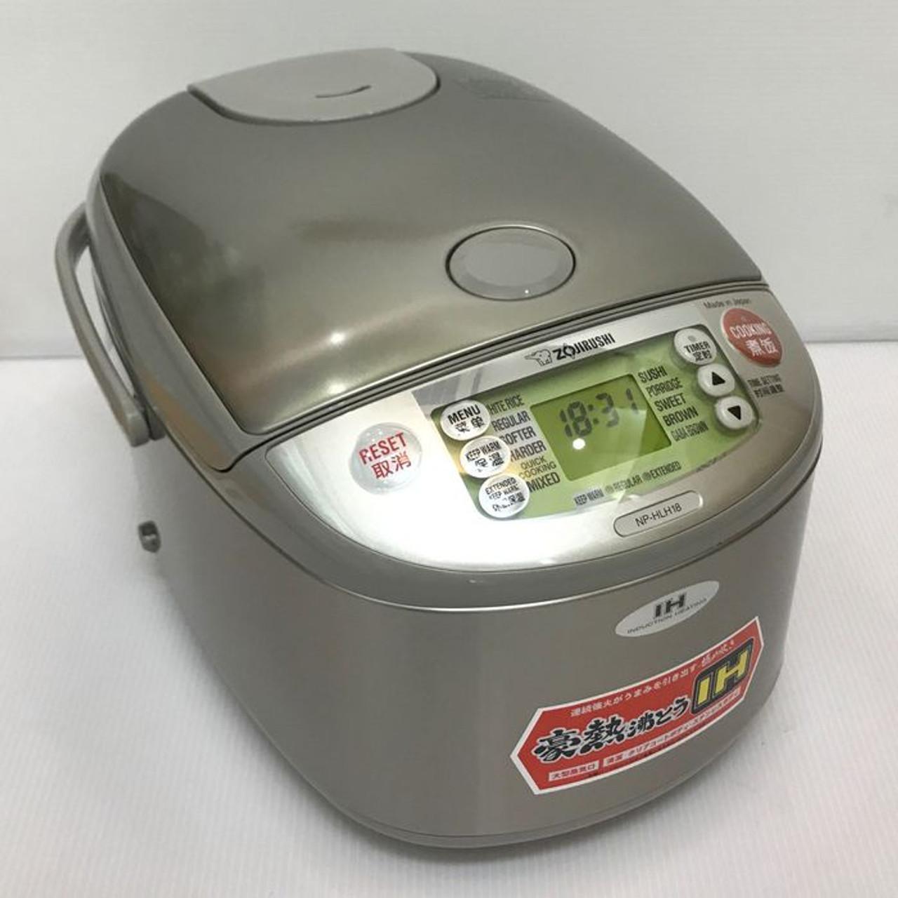 Zojirushi Rice Cooker NP-HLH18 XA 220-230V