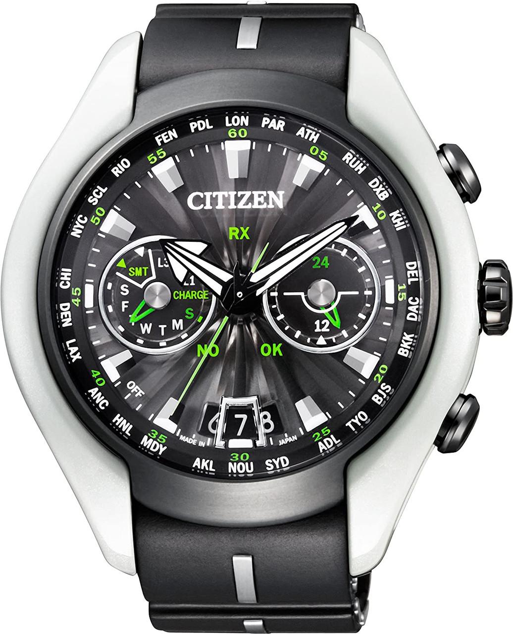 Citizen SATELLITE AIR WAVE CC1064-01E Limited