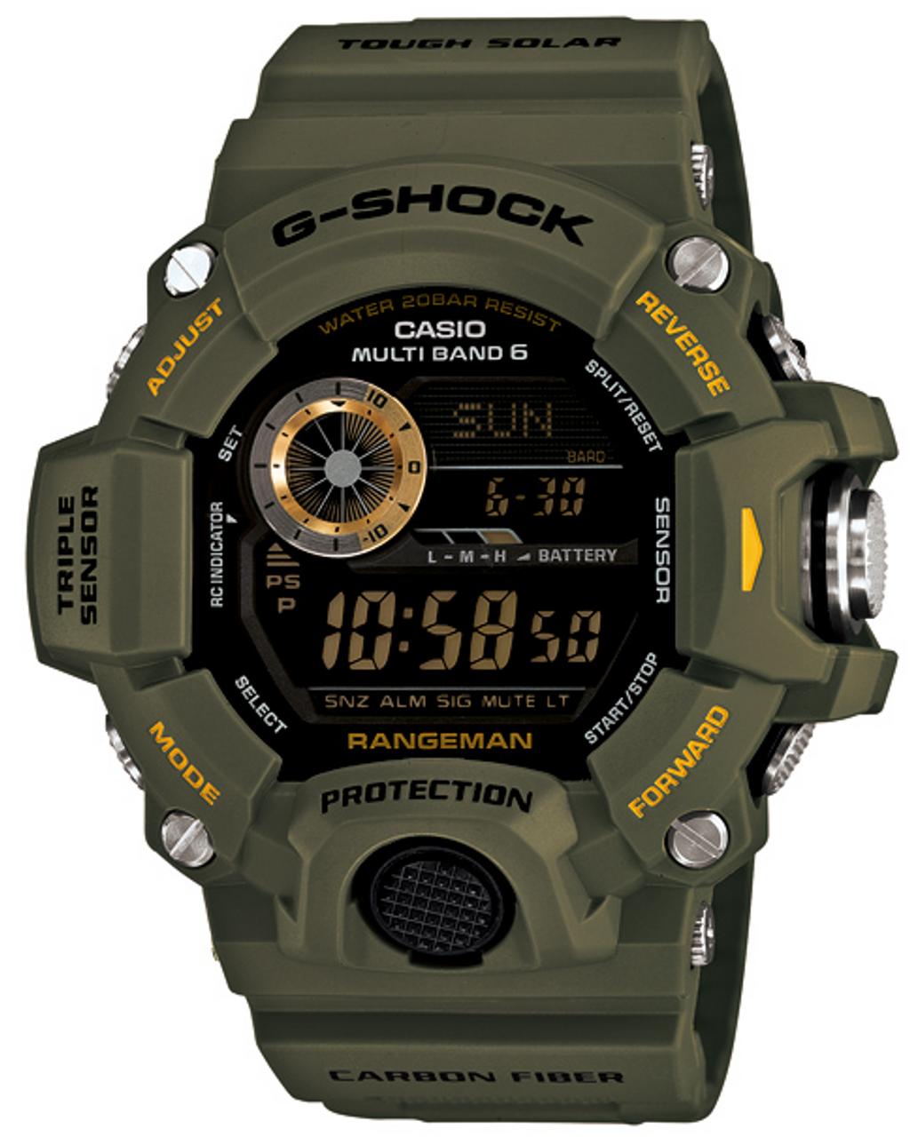 Casio G-Shock Rangeman GW-9400J-3JF